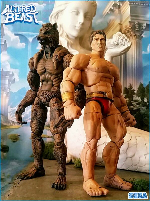 Roman Centurion / Werewolf (Altered Beast) Custom Action Figure