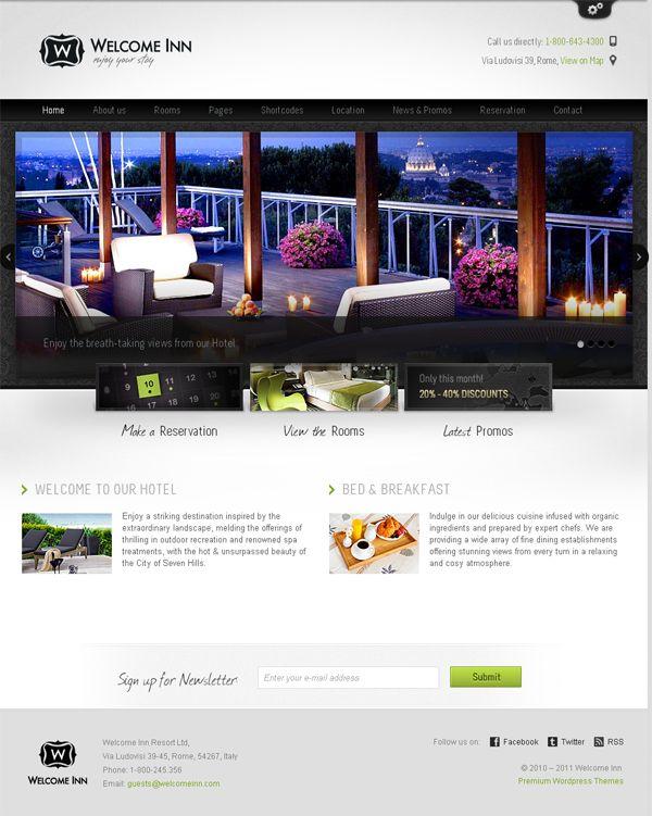 Die 108 besten Bilder zu Free Website Templates von Server Point auf ...