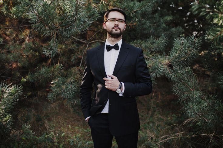 Pan Młody - Sesja Ślubna Warszawa - Paweł Kotas