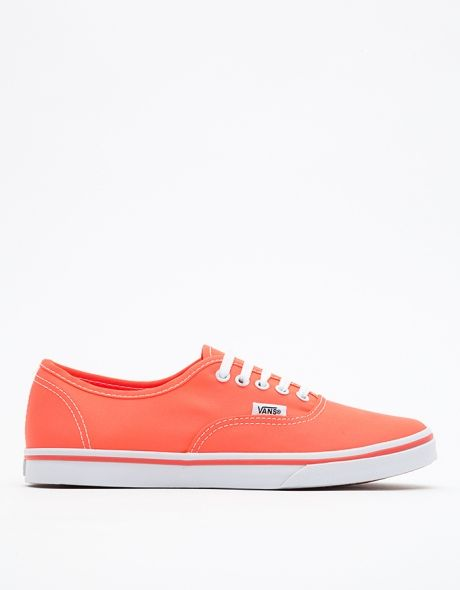 vans bright coral tennis shoes shoe heaven
