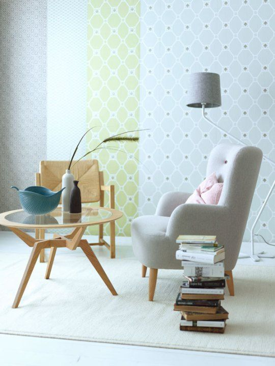 mid-century expression in pastels