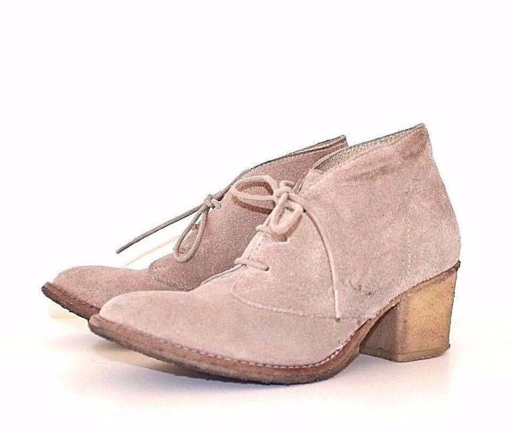 Vintage Beige 100% Real Suede TOPSHOP Cuban Heel Lace Up Ladies Ankle Boots UK 3 EU 36 by Jebitute5b on Etsy https://www.etsy.com/listing/575936089/vintage-beige-100-real-suede-topshop