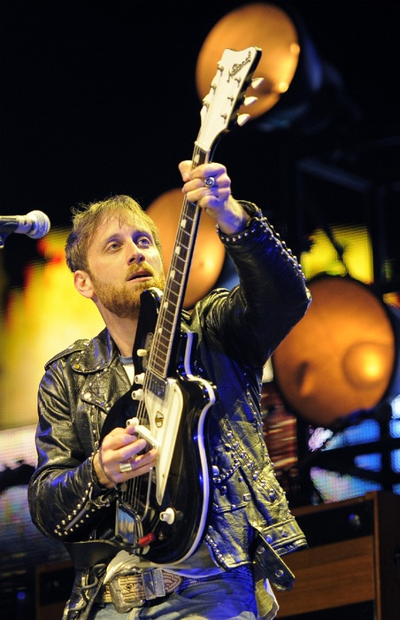 Dan Auerbach of The Black Keys have played Coachella before, but this was their first time headlining a night. http://bit.ly/IKDNOw  Photo Credit: AP Photo/Chris Pizzello