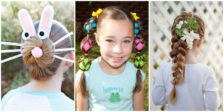 8 Easy And Cute Easter Hairstyles For Kids Kids Hairstyles Cute Hairstyles For Kids Easter Hairstyles