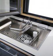 Un mitigeur inclinable pour une petite cuisine, Lapeyre - Marie Claire Maison