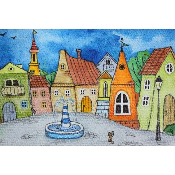 My own town - Postcards, Romantic