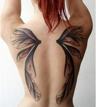 best 25 fairy wing tattoos ideas on pinterest butterfly wing tattoo wing tattoo on shoulder. Black Bedroom Furniture Sets. Home Design Ideas