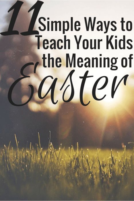 Are you scrambling to figure out how to celebrate the resurrection with your little ones? Here are 11 Simple Ways to Teach Your Kids the Meaning of Easter!