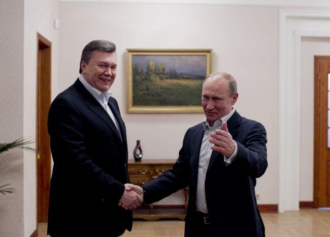 Грабли Януковича как эстафетная палочка Путина