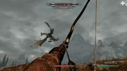 [Skyrim] I got you now Dragon... huh? http://ift.tt/2iwa2WK