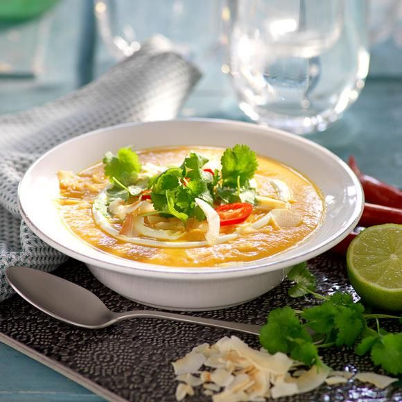Morotssoppa | hemtrevligt.se/hemmetsjournal | soppa, morot, morötter, kokosmjölk, ingefära, lime,