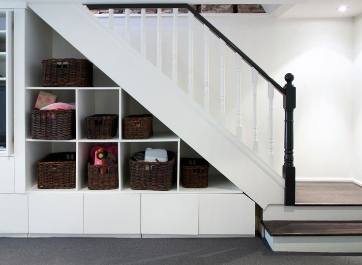 Under Stairs Basement Ideas: Under Stairs Storage