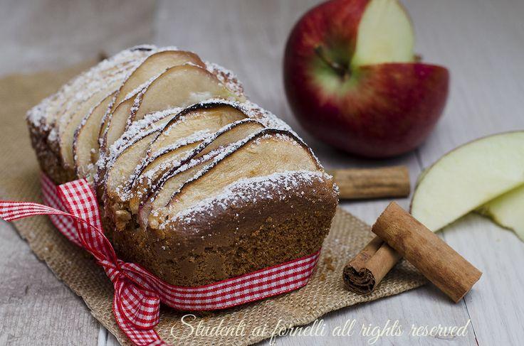 plumcake alle mele soffice senza burro goloso per la colazione ricetta facile