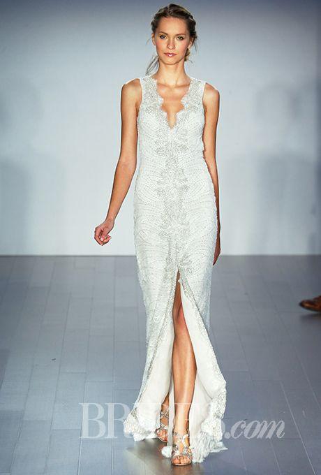23 best Lazaro images on Pinterest   Short wedding gowns, Wedding ...