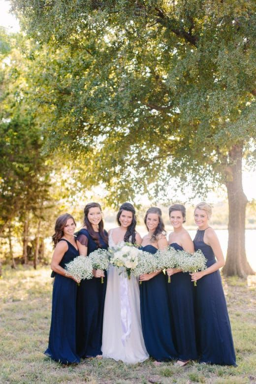 Glamorous Outdoor Barn Wedding