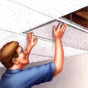 Watch out, Mom and Dad! I'm about to remodel your basement Pinterest style! You're gonna Lovitt!  Installing a drop ceiling- need to know this for our basement remodel!