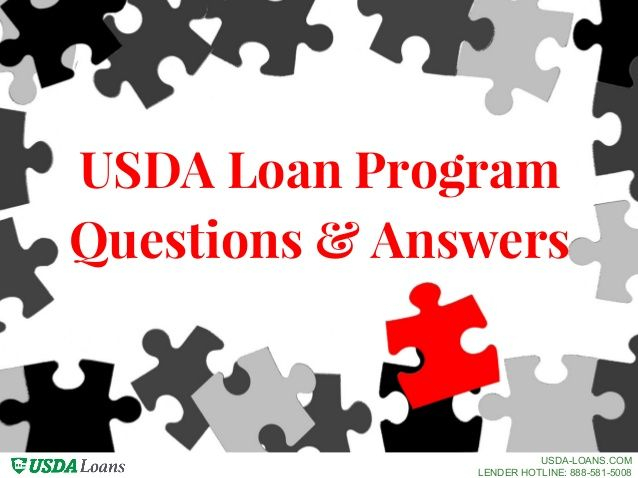 43 best loan programs images on pinterest finance handy for Building a house with usda loan