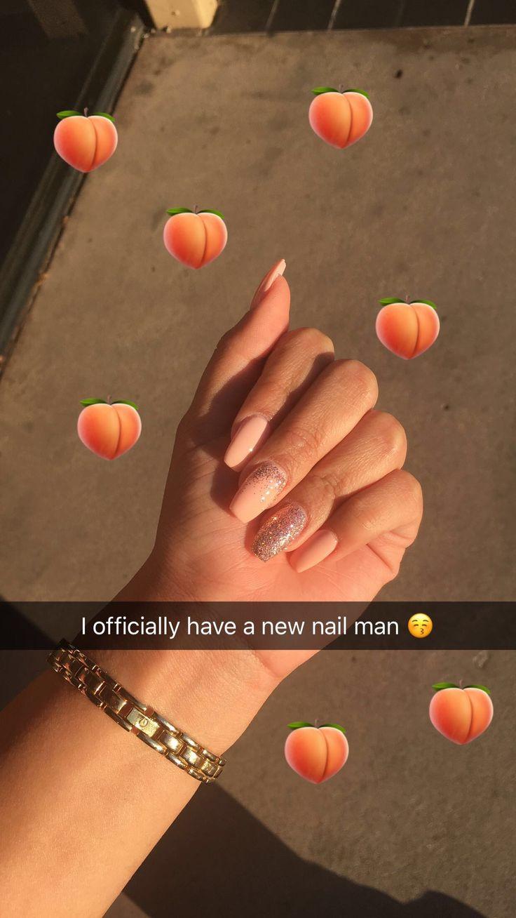 Perzik nagels 🍑