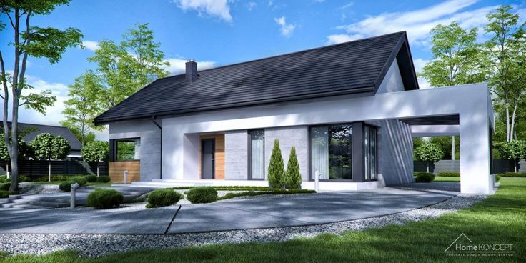 Projekt domu HomeKONCEPT-45 /lustro/ | HomeKONCEPT
