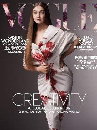 Vogue magazine March 2021 - Gigi Hadid cover. Gigi Hadid On Motherhood and Life Beyond Modeling Vogue Covers, Vogue Magazine Covers, Vogue China, Leadership Models, Vogue Us, Gigi Vogue, My Baby Girl, Dress Patterns, Editorial Fashion
