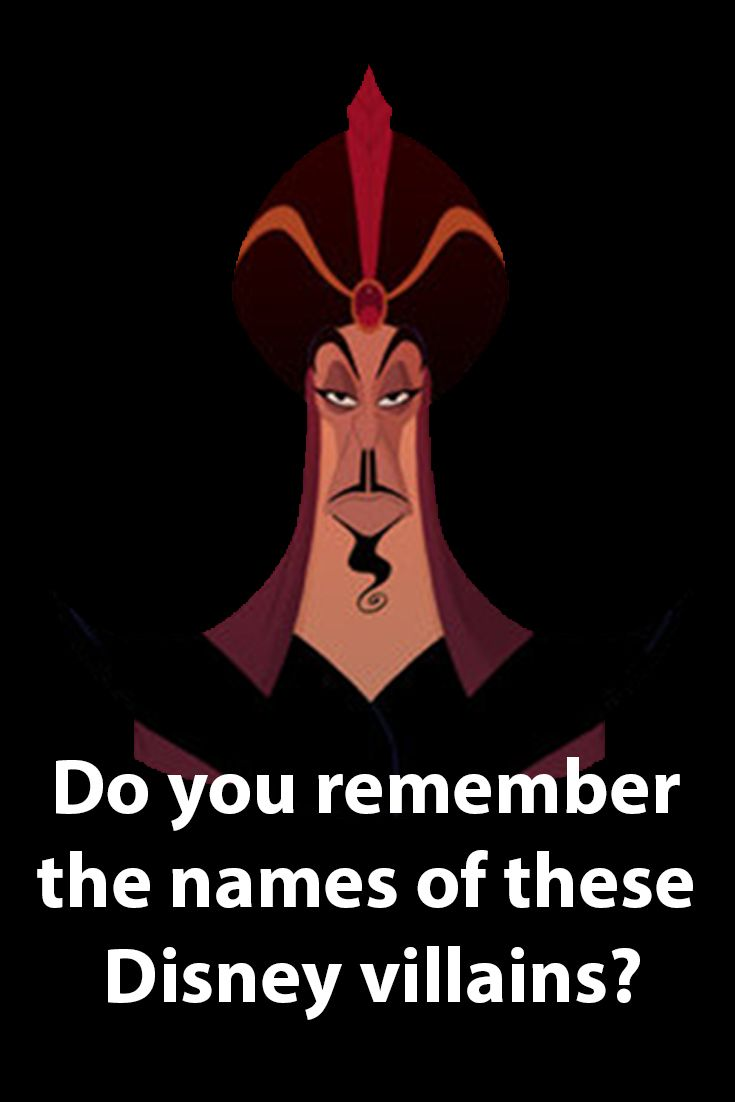 Just like the Disney Princesses, the Disney Villains is also a completely different Franchise. It consists of the most well-known villains ever created by Disney. Let's test how much you remember those Disney villains?
