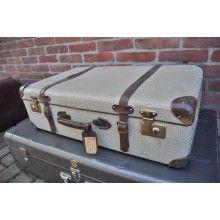 Oude reiskoffer