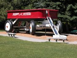 Spokane  Junior Leage of Spokane worked really hard to raise the money to build  this wagon slide in Riverfront ParkArt Spokane, Childhood Memories, Red Flyers, Spokane Favoriteplacesandspac, Riverfront Parks, Red Wagon, Favorite Places And Spacs, Big Red, Radios Flyers