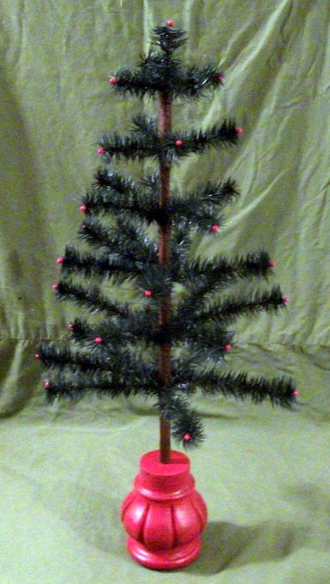 Goose Feather CHRISTMAS TREE, German Made 2-1/2 foot ...