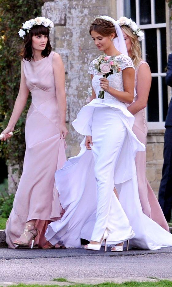 Millie Mackintosh's Wedding: Millie And Her Bridesmaids Make A Pretty Trio