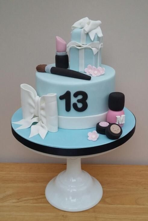 Makeup Birthday Cake Th Birthday