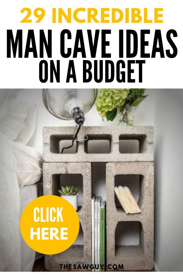 29 Incredible Man Cave Ideas On A Budget Diy Projects For Men