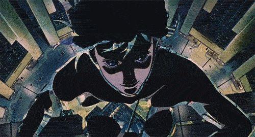 "Major Motoko Kusanagi of Mamoru Oshii's ""Ghost in the Shell"""