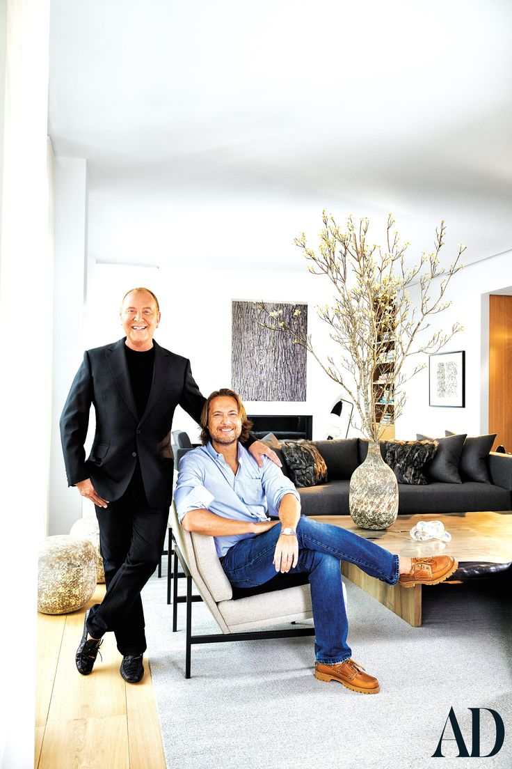 Michael Kors Takes AD Inside His Sprawling New York City Penthouse - Architectural Digest Candice Pool, Greenwich Village, Architectural Digest, George Nelson, Hollywood Hills, World Trade Center, Michael Kors, Manhattan Penthouse, Manhattan Apartment