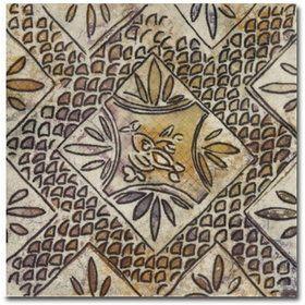 Mainzu Ceramica Milano Decor Century Ocre 20x20