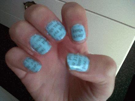 Kranten nagels