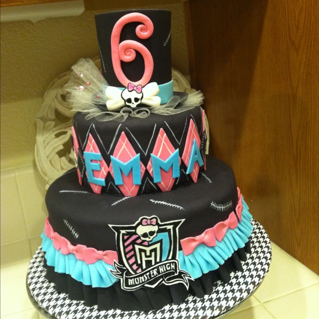 monster high birthday cake 159 best images about high ideas on 6004