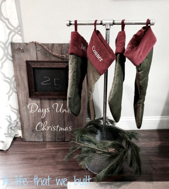 17 best ideas about stocking stand on pinterest xmas for Best stocking holders