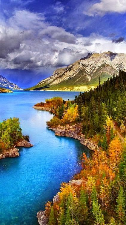 Abraham Lake - North Saskatchewan River - Western Alberta, Canada | HoHo Pics Learn how to detox your life !! www.forever.dropshipme.me