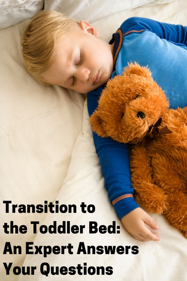 For toddlers, transitioning from sleeping in a crib to sleeping in a bed is just one of many milestones. While this may seem like an exciting leap from baby to big kid for you, your toddler may feel differently. A new bed means new rules, new freedoms, new bedtime and nap time routines, and potentially, new fears. Find answers to the most commonly asked questions about the transition to the big kid bed.