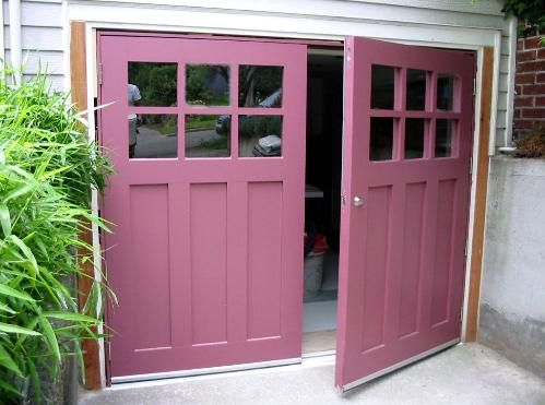 Real Carriage Doors For Your Carriage House Built And