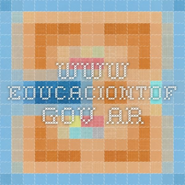 www.educaciontdf.gov.ar