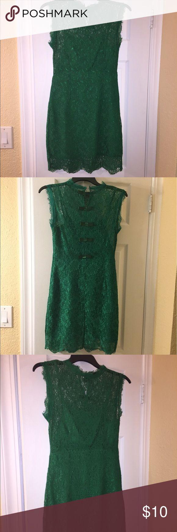 Green Mini dress 👗 Size medium but fits like a small 👗 none Dresses Mini