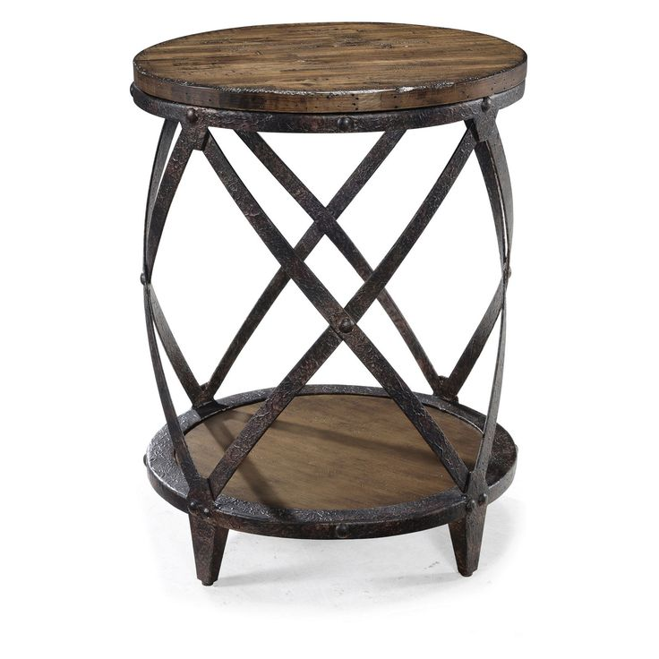 Magnussen Furniture Pinebrook Drum End Table