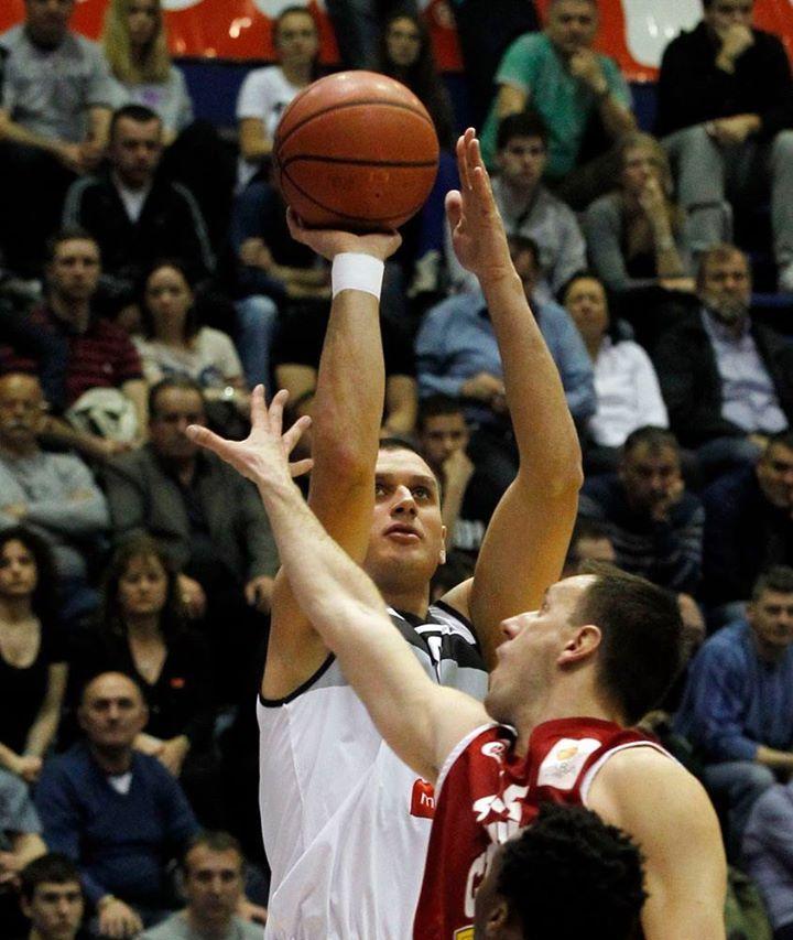Saša Pavlović in action (KK Partizan - Cedevita 77-68 - 31.03.2014)