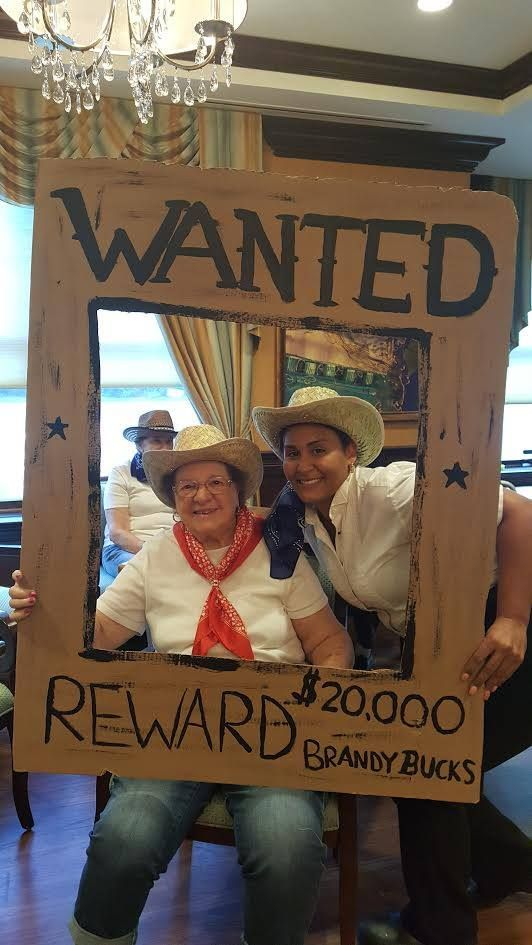 Mahwah went back to it's western roots complete with a hoedown, and line dancing competition!