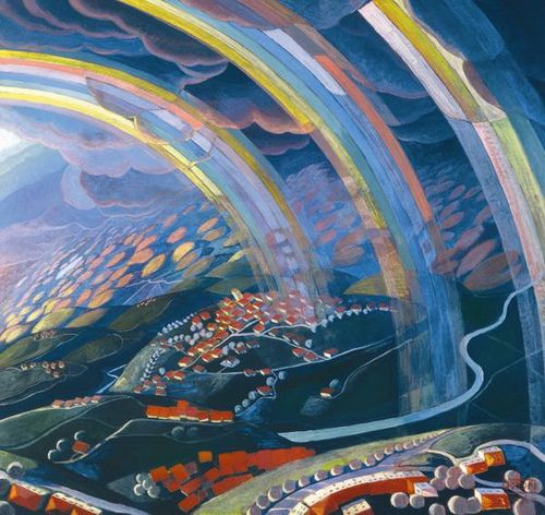 The Miracle of Light While Flying - Gerardo Dottori