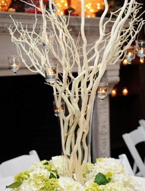 51 best hands for hope centerpieces images on pinterest 75 charming winter centerpieces digsdigs non flower junglespirit Images