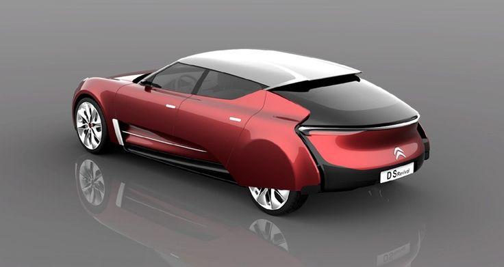 Dit concept is een eerbetoon aan het iconische ontwerp van de Citroën DS - WANT