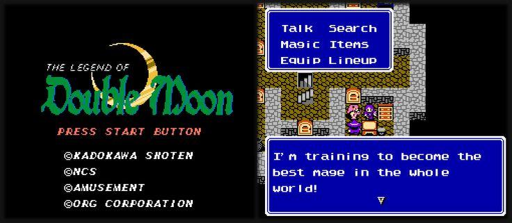 Vor kurzem wurde das NES Rollenspiel The Legend of Double Moon ins Englische übersetzt. Dieses soll im Grunde ein Dragon Quest-Klon sein, der aber genug bietet um einen Blick wert zu sein - http://www.jack-reviews.com/2015/05/the-legend-of-double-moon-englisch-patch.html