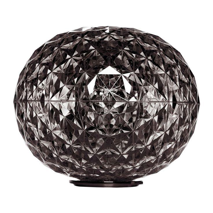 Buy Kartell Planet Low Table Lamp - Smoke | Amara